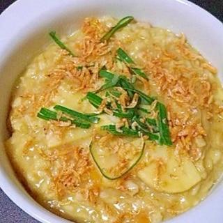 オートミールの中華粥