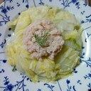 蒸し煮で美味しい♡白菜と蟹缶のコラボ
