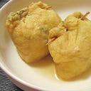 野菜と豆腐たっぷり★鶏肉巾着