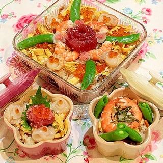 ちょっと豪華なちらし寿司♪ばらちらし☆