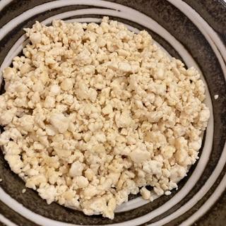 まるで米!アレンジいろいろ豆腐の米化!