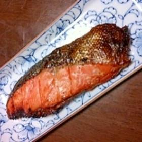 一晩漬けるだけ★銀鮭の西京焼き♪