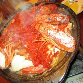 我流!これもまたカタプラーナ(ポルトガル風海鮮鍋)