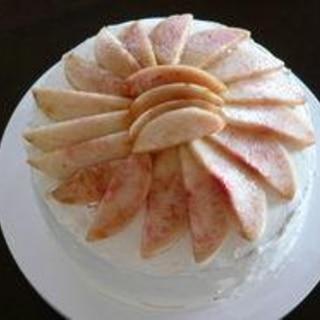 ひな祭りに☆桃のケーキ