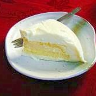 ぷるぷるレアチーズケーキ