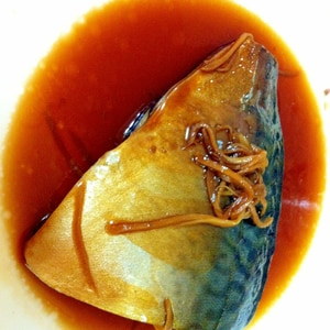 ご飯がススム♪甘辛い~鯖の煮付け