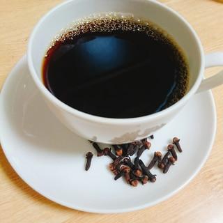 クローブ香る☆スモーキーなコーヒー