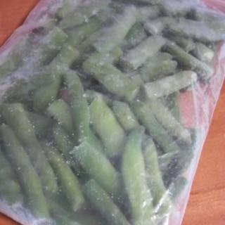 我が家流のササゲの冷凍方法