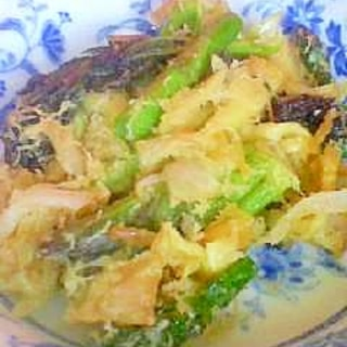 春野菜のかき揚げ