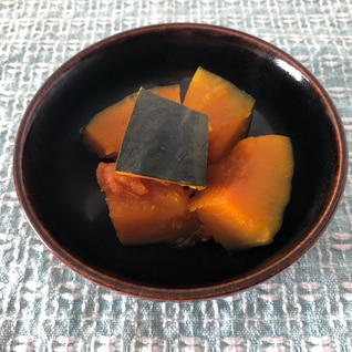 母の味!基本のかぼちゃの煮物