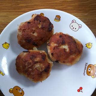 豚ミンチと乾燥おからのハンバーグ