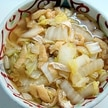 白菜の常備菜レシピ~白菜と油揚げの煮物~