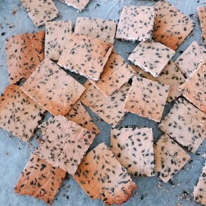 作り方と材料がとても簡単で、洗いものも少なくて済むし、クッキー自体もすごく美味しく焼けたので、またリピートする。砂糖の代わりにハチミツを使用!よりヘルシー⭐︎