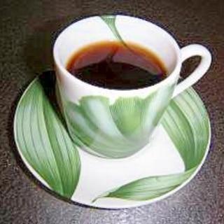 頭にいい☆朝コーヒー