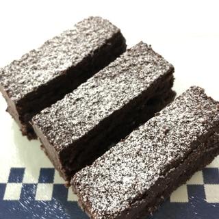 しっとりチョコレートケーキ