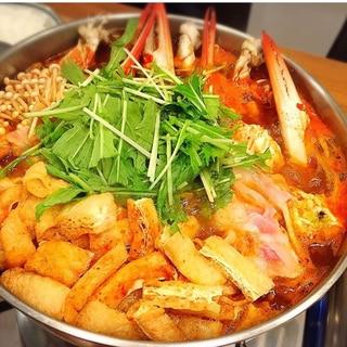 赤から鍋(渡り蟹いり)