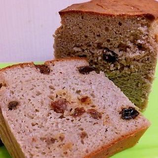 そば粉100%★そば粉ぶどうパン