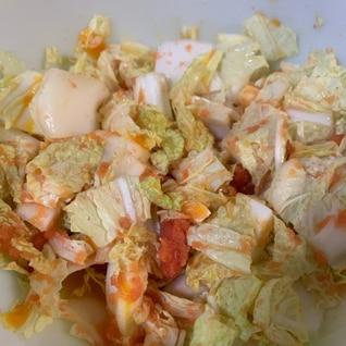 めん玉白菜サラダ