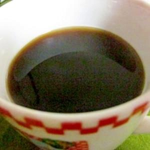 ラム酒が香るホットコーヒー