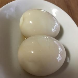 麺つゆ入れて放置するだけ!簡単!煮卵