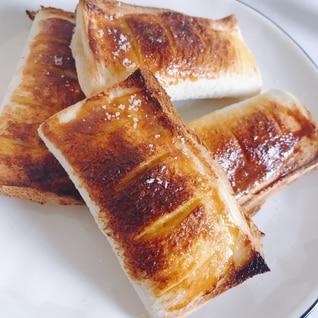簡単!食パンでアップルパイ