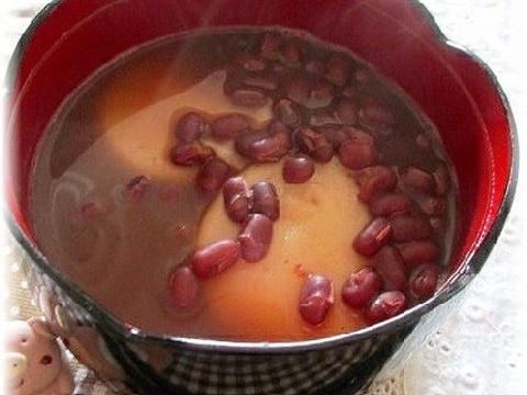 小豆の缶詰でお手軽ぜんざい(お汁粉)♪