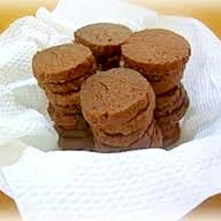 簡単♪ビニール袋でできるココアクッキー