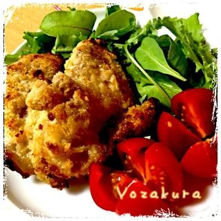 ☆モテ料理☆超簡単 鶏もも肉のパン粉焼き