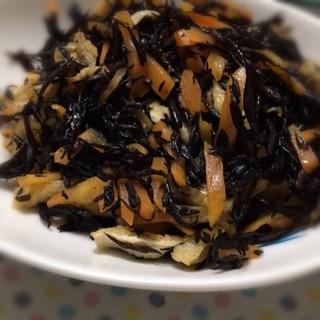 めんつゆでひじきの煮物