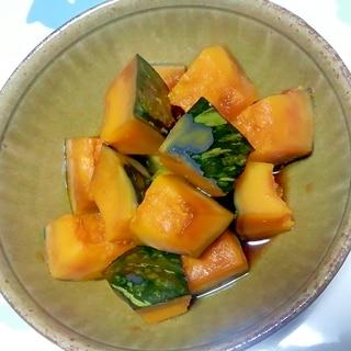 無加水鍋でかぼちゃの煮物++