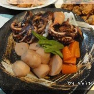 イイダコと里芋の旨煮
