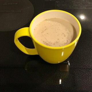 豆乳で蜂蜜カフェオレ