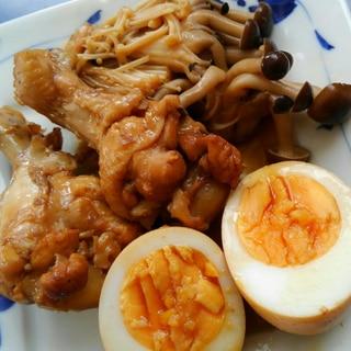 【減塩】中国黒酢で手羽元と卵の煮物