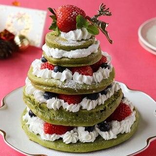 HMで簡単に作れる♪クリスマスツリーケーキ【頑張りすぎない家族ごはん#11】