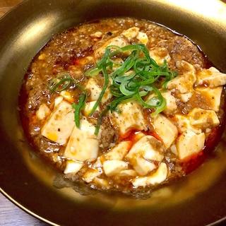 作り置きの肉味噌de即席四川風麻婆豆腐