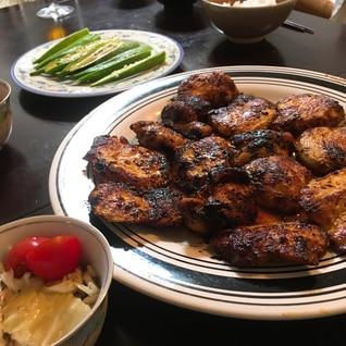 鶏肉の味噌マヨ焼き