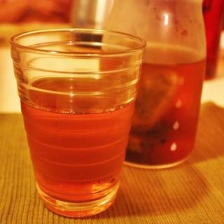 高山茶とミントの爽やかなアイスティー