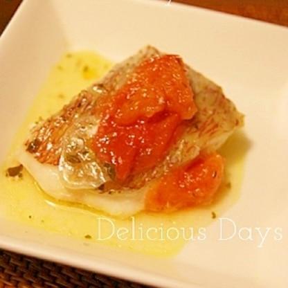 5分で完成★白身魚のおしゃれイタリアン