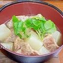 塩麹豚肉と大根の昆布茶煮