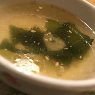 コンソメわかめスープ