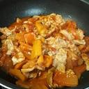 りんご豚肉トマト缶蒸し煮込み
