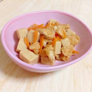 こうや豆腐・油揚げ煮物