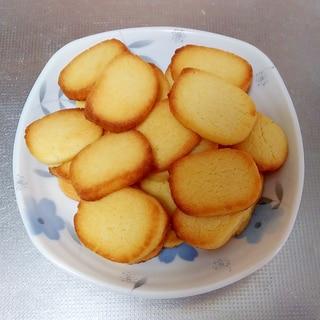 卵黄で作るクッキー
