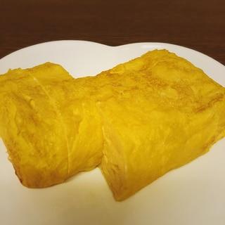お寿司屋さんの卵焼き