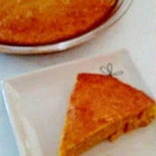 オートミールとかぼちゃのケーキ