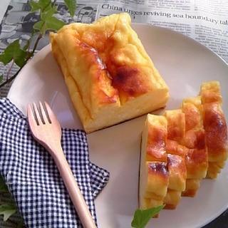 バター不使用!水切りヨーグルトケーキ♪