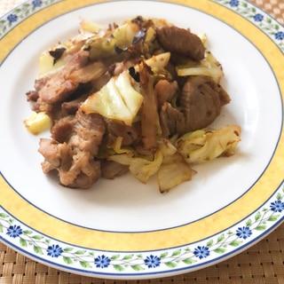 豚肉とキャベツの生姜焼き