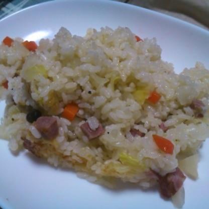 簡単で美味しいですね♪子供って味ご飯大好きだから助かります!野菜も食べられますしねo(^-^)o ご馳走様でした(^∀^)ノ