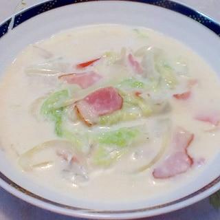 旬☆白菜とベーコンのクリーム煮