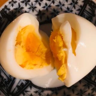 かための茹で卵